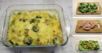 Сливочная курица с брокколи: пошаговый фото рецепт