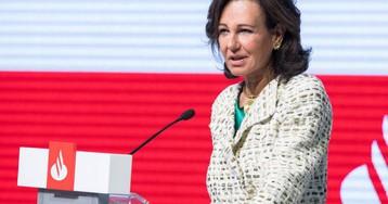 El Banco Santander ganó 7.810 millones de euros en 2018, un 18% más que el ejercicio anterior