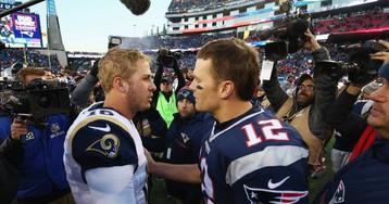 La osadía de los Rams desafía el legado de los Patriots de Tom Brady en la Super Bowl