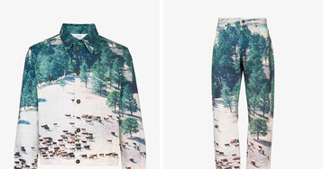 If You Like Landscape Photography, You'll Love this CALVIN KLEIN JEANS EST. 1978 Set