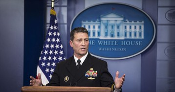 White House Taps Ronny Jackson for Promotion to Two-Star Admiral