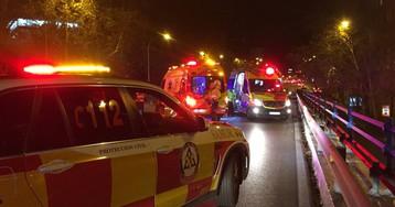 Un motorista de 30 años muere en el puente de Francisco Silvela