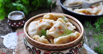 Вкуснейшие вареники с картошкой и грибами