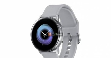 Galaxy Sport smartwatch render shows a less sporty design