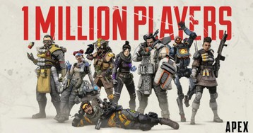 Respawn's Apex Legends hits 1 million players in 8 hours