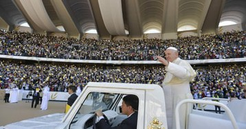 'I am blessed': UAE's expatriate workers marvel at mass with the pope