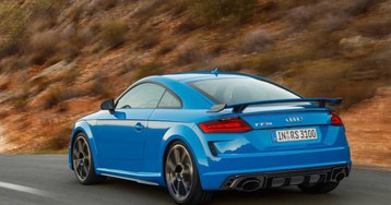 Audi TT RS Coupe and Roadster pack 400 horsepower five-banger