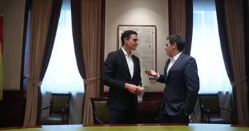 La alianza entre PSOE y Ciudadanos
