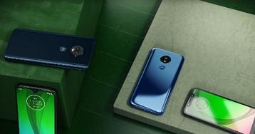 Motorola lança quatro versões do Moto G7 com melhorias de bateria e câmera