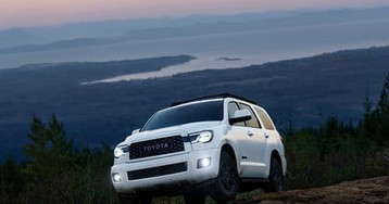 Toyota's aging Sequoia gets a shot of adrenaline with TRD Pro off-road model