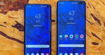 Fotos reais dos novos Galaxy S10 e S10 Plus vazam e confirmam rumores