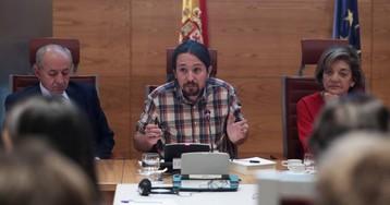 """Iglesias advierte de una """"contrarrevolución reaccionaria"""" tras la concentración de Colón"""