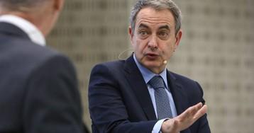 """Zapatero: """"Todos los que hemos sido presidentes hemos tenido mediadores en conflictos políticos"""""""