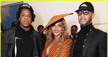 Beyoncé & Jay-Z Couple Up at DreamWeavers Exhibition Opening Celebration!