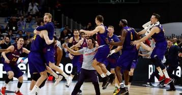 El Barça revalida el trono en el Palacio del Madrid