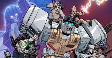 Exclusive: The Ghostbusters Are Teaming Up With the Transformers to Save the World