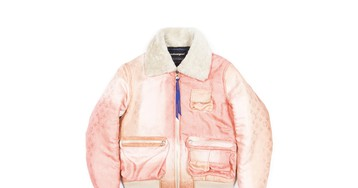 Octavian's Droolworthy Bomber Jacket Is Made From a Luxury Louis Vuitton Scarf