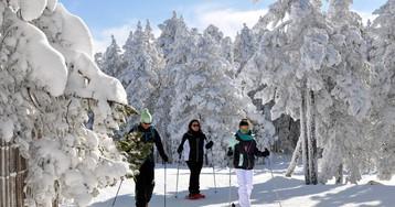 Sin esquís y a lo loco