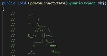 [Перевод] Объясняем код с помощью ASCII-арта