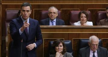 "Pedro Sánchez reviste a Rivera con la ""chaqueta de la ultraderecha"""