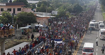 New migrant caravan forms as Mexican cities that border US keep swelling with asylum seekers