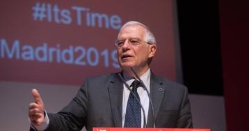 Borrell se perfila como candidato socialista a las elecciones europeas