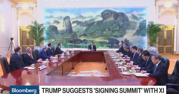 U.S.-China Move Closer to Trade Deal as Trump Suggests 'Signing Summit'