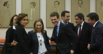 """Casado critica a Sánchez por el homenaje a Machado y Azaña: """"Ya no le quedan tumbas que visitar"""""""