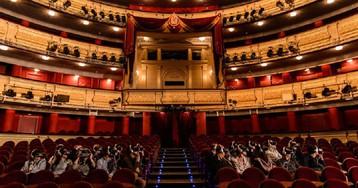 Cuando las Cortes se instalaron en el Teatro Real