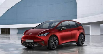 SEAT el-Born EV concept looks like Model 3 and Bolt had a baby