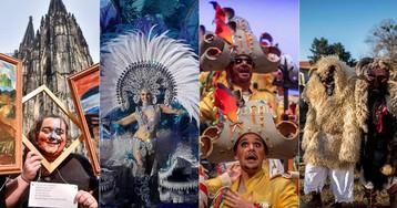 El carnaval alrededor del mundo, en imágenes