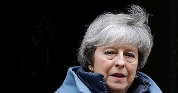 UK's Labour forced into backing second Brexit vote by Prime Minister May's actions, finance spokesman says
