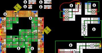Картонный движок для электротехнической настольной игры. Как мы приближали его к реальности