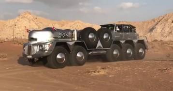 Un jeque árabe manda construir el todoterreno más grande del mundo
