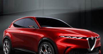 electric alfa romeo tonale concept sculpted to the beauty of the human body
