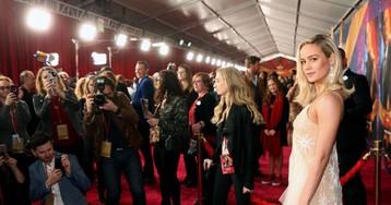 "Watch Brie Larson and Samuel L. Jackson Sing ""7 Rings"" on 'Carpool Karaoke'"