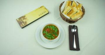 """Суп Харчо от ресторана """"Сахли"""""""