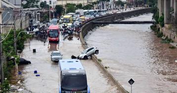 Un potente temporal mata a al menos 12 personas y paraliza São Paulo