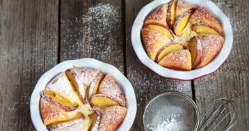 Рецепт приготовления творожного суфле с яблоком