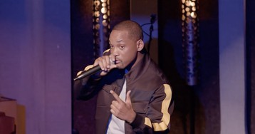 Watch Will Smith Open for Dave Chappelle in His First-Ever Stand-Up Set
