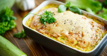 Рецепт приготовления омлета с кабачками