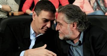 """Sánchez pide """"llenar las urnas"""" en su primer gran acto con los candidatos del PSOE en Madrid"""