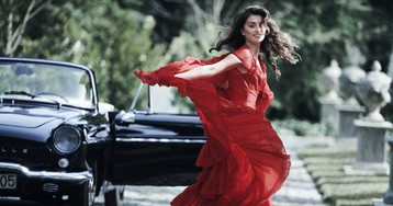Penélope Cruz: editora, modelo y fotógrafa por Karl Lagerfeld