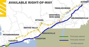 Passenger rail advocate calls VIA's proposed Ontario-Quebec a 'tourist train' to the 'hinterland'