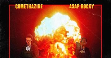 "ASAP Rocky Joins Comethazine for ""Walk"" Remix"