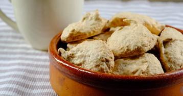 Миндальное печенье: видео рецепт и пошаговые фото