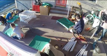 For Eagle Scout project, Utah teen building 150 beds for shelter dogs