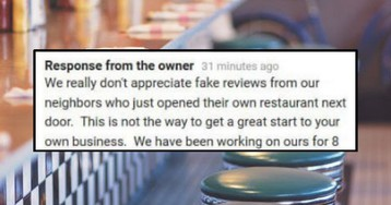 Aggressive BS Review Ends up Being Symptom of Neighboring Diner War