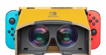 Nintendo Labo's new VR kit looks even better in action