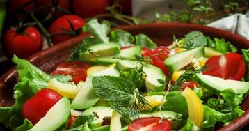 Витаминный салат с овощами